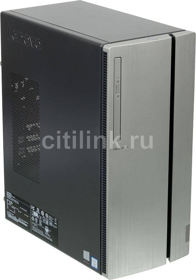 Компьютер  LENOVO IdeaCentre 720-18ICB,  серебристый