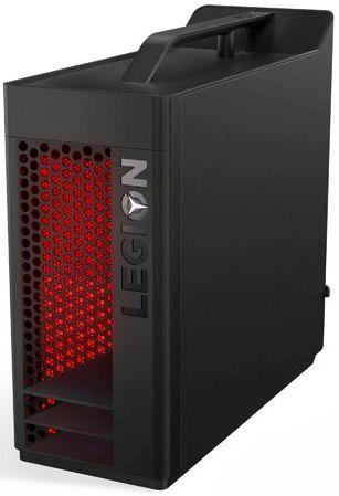 Компьютер  LENOVO Legion T530-28ICB,  Intel  Core i3  8100,  DDR4 8Гб, 1000Гб,  128Гб(SSD),  NVIDIA GeForce GTX 1050 - 2048 Мб,  DVD-RW,  Free DOS,  черный [90jl007brs]
