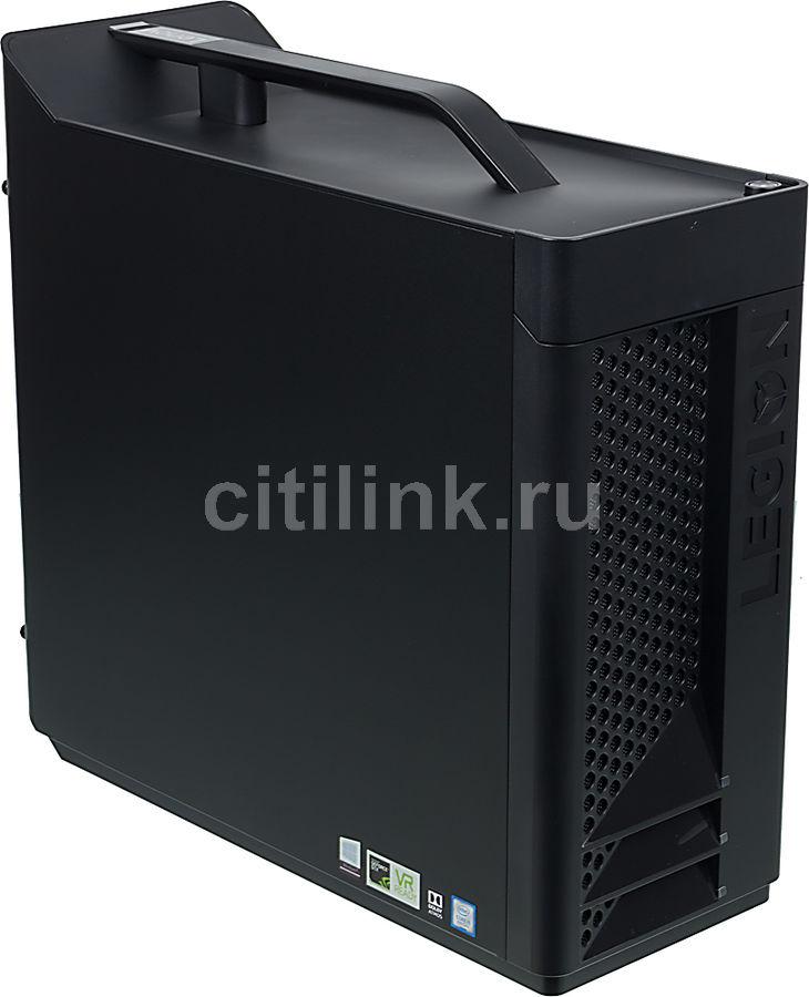 Компьютер  LENOVO Legion T530-28ICB,  Intel  Core i5  8400,  DDR4 8Гб, 1000Гб,  128Гб(SSD),  NVIDIA GeForce GTX 1060 - 3072 Мб,  DVD-RW,  Windows 10,  черный [90jl009urs]