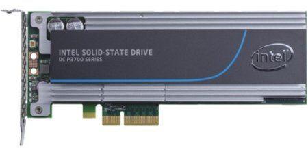 SSD накопитель INTEL DC P3700 SSDPEDMD400G410 400Гб, PCI-E AIC (add-in-card), PCI-E x4,  NVMe