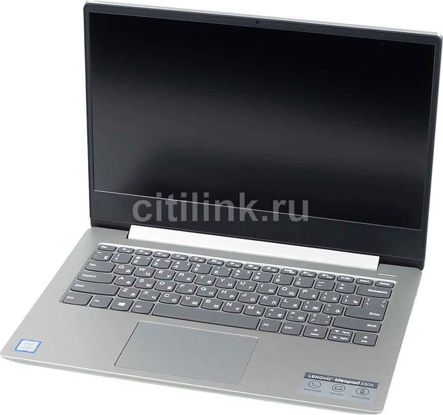 "Ноутбук LENOVO IdeaPad 330S-14IKB, 14"",  IPS, Intel  Core i3  8130U 2.2ГГц, 6Гб, 128Гб SSD,  Intel UHD Graphics  620, Windows 10, 81F4013WRU,  серый"