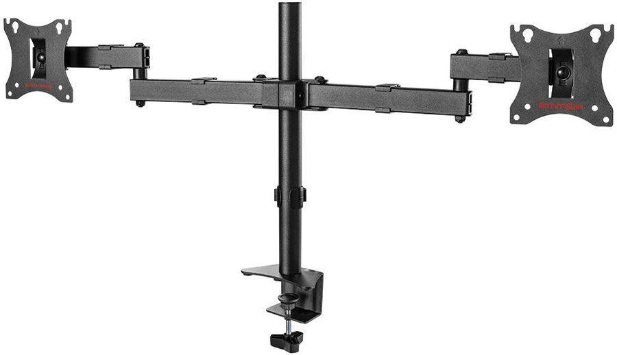 """Кронштейн для мониторов Arm Media LCD-T04 черный 15""""-32"""" макс.14кг настольный поворот и наклон"""