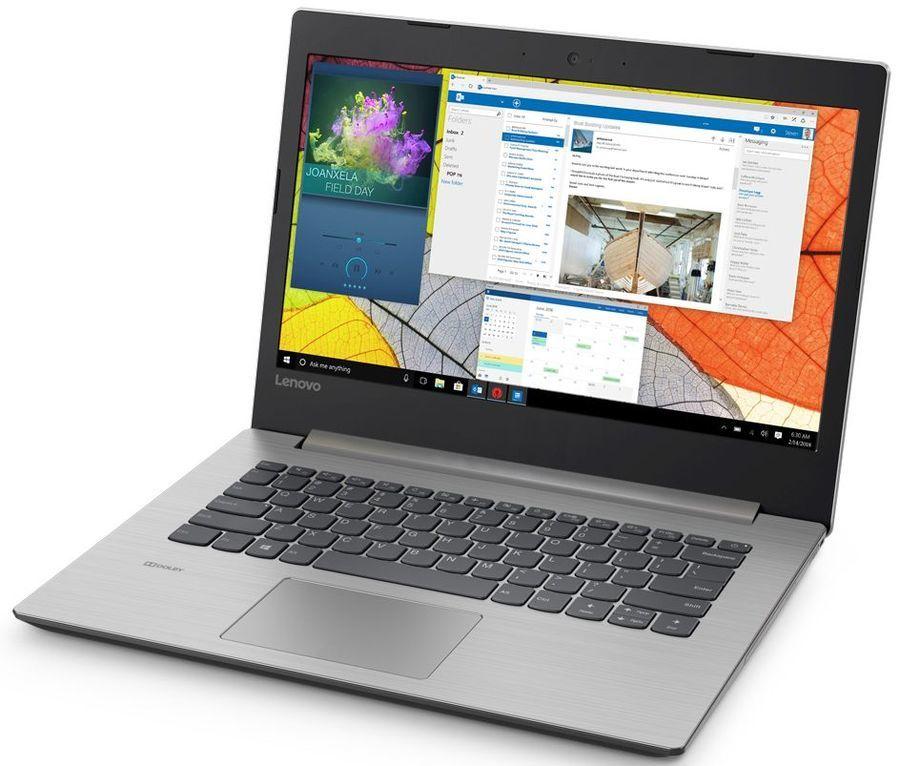 "Ноутбук LENOVO IdeaPad 330S-14AST, 14"",  AMD  A6  9225 2.6ГГц, 4Гб, 128Гб SSD,  AMD Radeon  R4, Windows 10, 81F8003FRU,  серый"