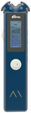 Диктофон RITMIX RR-145 8 Gb,  синий [15119877]
