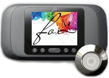 Видеопанель  Fox FX-PV3,  цветная,  накладная,  серебристый