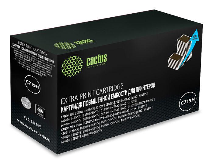 Картридж CACTUS CS-C719H-MPS, черный
