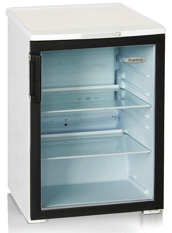 Холодильная витрина БИРЮСА Б-B152,  однокамерный, белый/черный