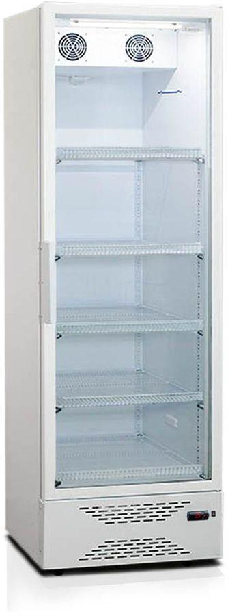 Холодильная витрина БИРЮСА Б-460DNQ,  однокамерный, белый
