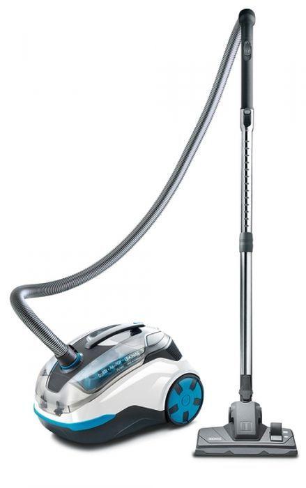 Пылесос THOMAS DryBOX + AquaBOX Parkett, 1700Вт, белый/голубой