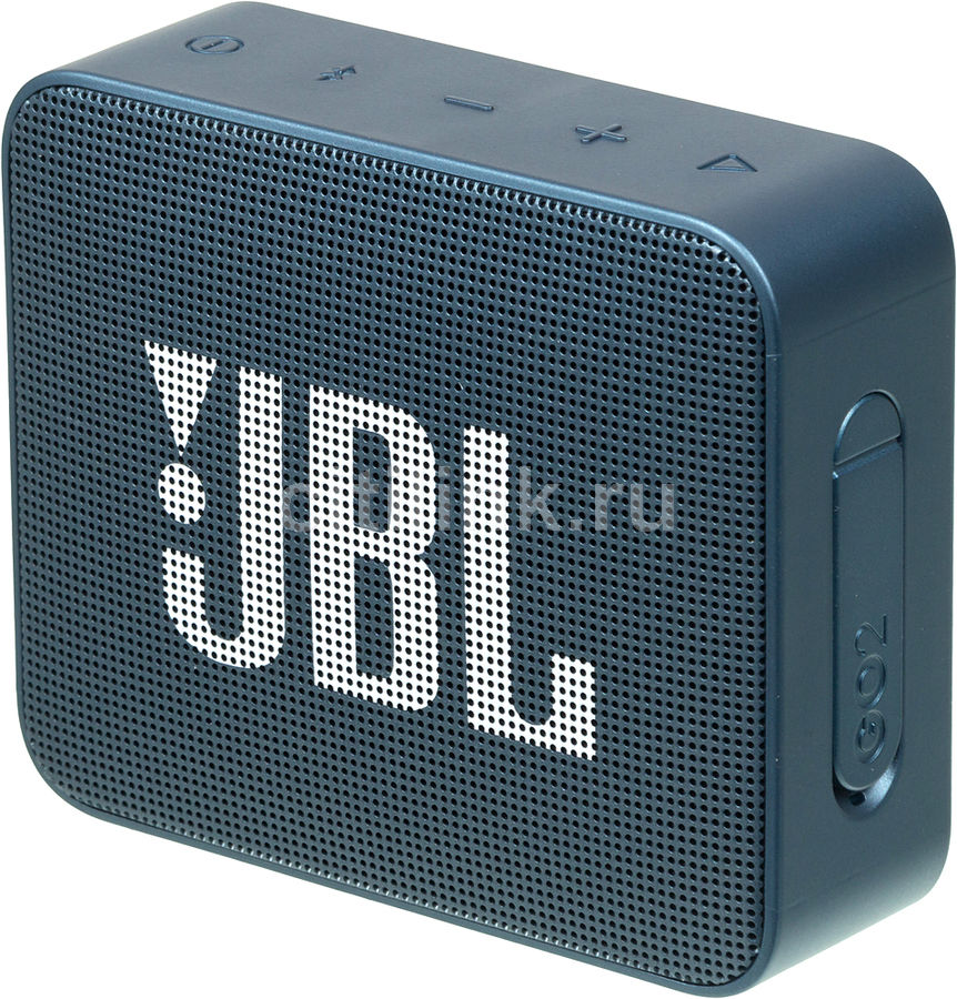 Портативная колонка JBL GO 2,  3Вт, синий  [jblgo2navy]