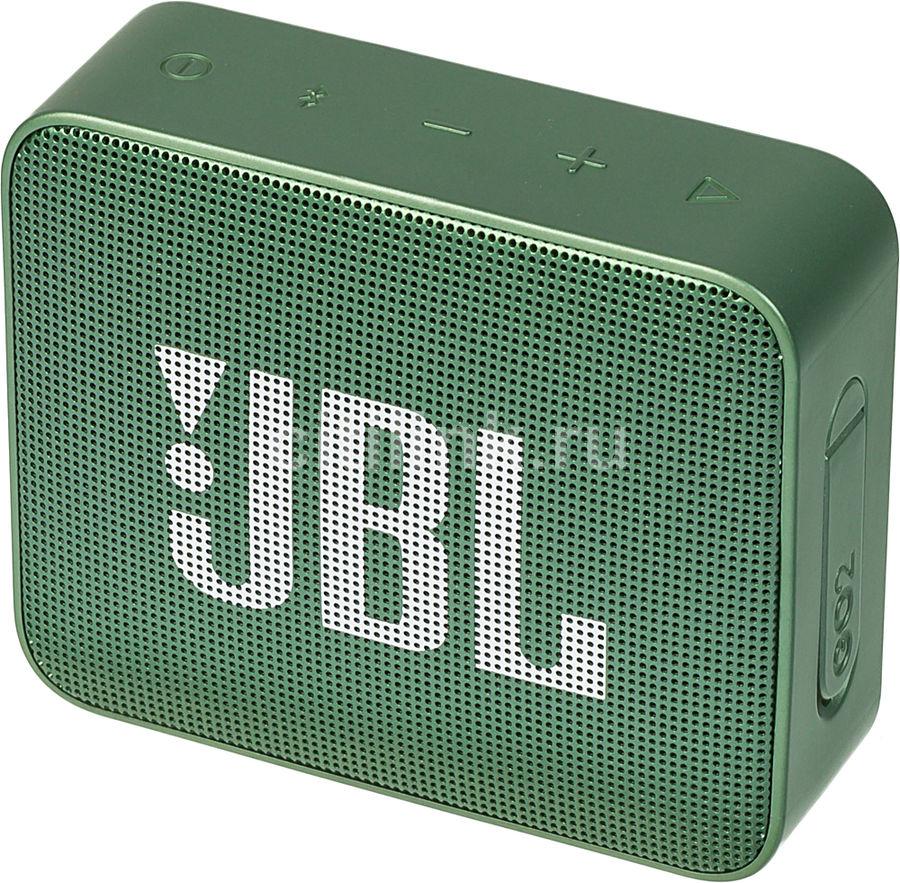 Портативная колонка JBL GO 2,  3Вт, зеленый  [jblgo2grn]
