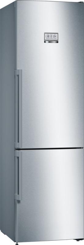 Холодильник BOSCH KGF39PI3OR,  двухкамерный, нержавеющая сталь