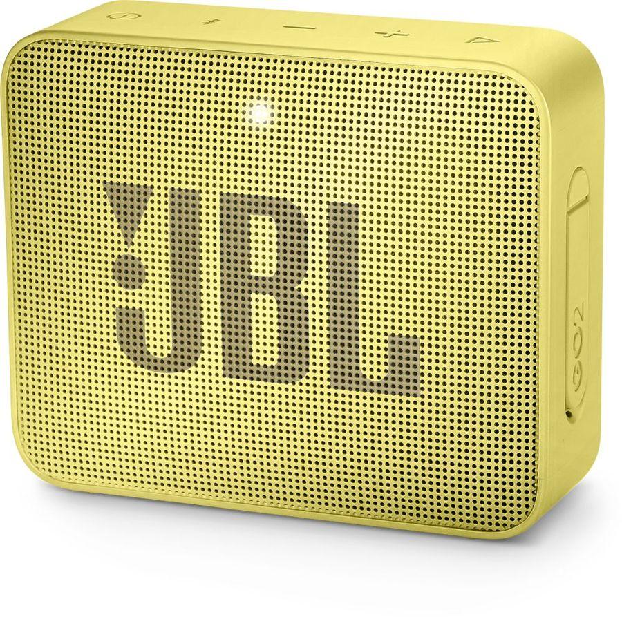 Портативная колонка JBL GO 2,  3Вт, желтый
