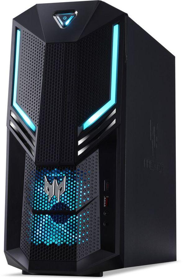 Компьютер  ACER Predator PO3-600,  Intel  Core i5  8400,  DDR4 16Гб, 2Тб,  256Гб(SSD),  NVIDIA GeForce RTX 2070 - 8192 Мб,  Linux,  черный [dg.e14er.002]