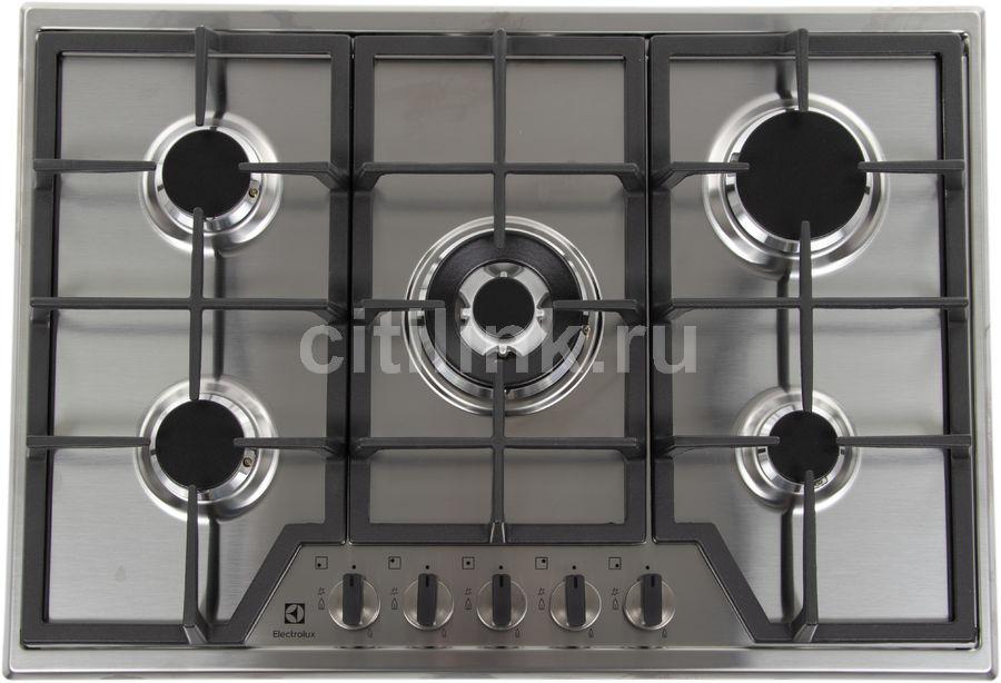Варочная панель ELECTROLUX GPE373MX,  независимая,  нержавеющая сталь