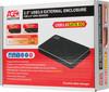 Внешний корпус для  HDD/SSD AGESTAR 3UB2AX1, черный вид 8