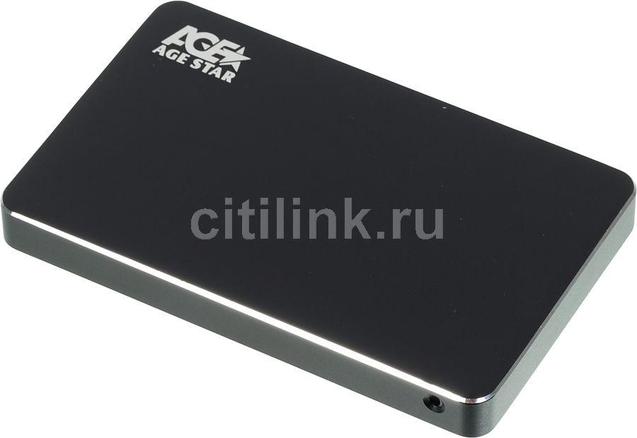 Внешний корпус для  HDD/SSD AGESTAR 3UB2AX1, черный