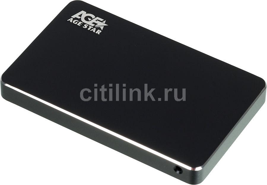 Внешний корпус для  HDD/SSD AGESTAR 3UB2AX1C, черный