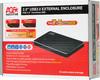 Внешний корпус для  HDD/SSD AGESTAR 3UB2AX2C, черный вид 8