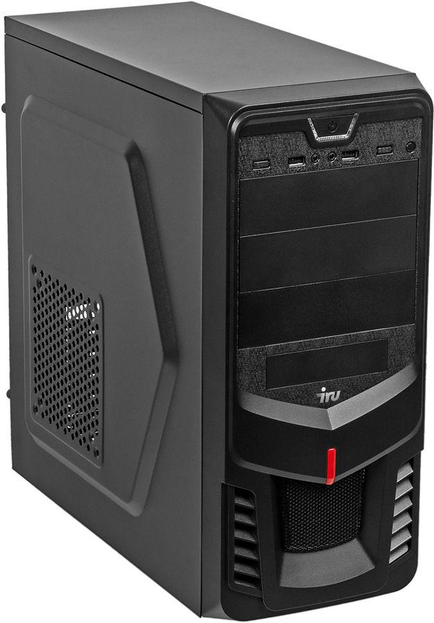 Компьютер  IRU Office 315,  Intel  Core i5  7400,  DDR4 4Гб, 240Гб(SSD),  Intel HD Graphics 630,  Free DOS,  черный [1087874]