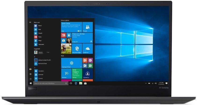 "Ноутбук LENOVO ThinkPad X1 Extreme, 15.6"",  IPS, Intel  Core i7  8750H 2.2ГГц, 16Гб, 512Гб SSD,  nVidia Quadro  GTX 1050 Ti - 4096 Мб, Windows 10 Professional, 20MF000TRT,  черный"