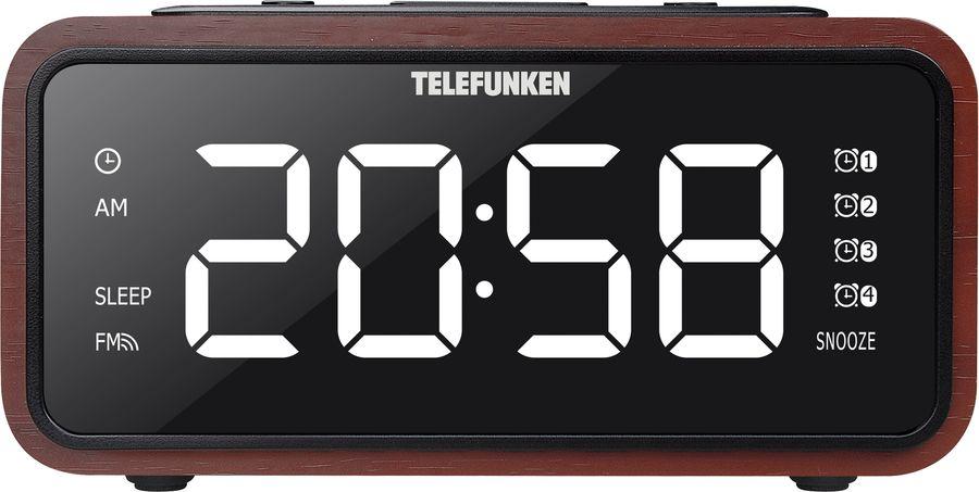 Радиоприемник TELEFUNKEN TF-1586,  красный