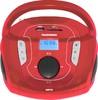 Аудиомагнитола TELEFUNKEN TF-SRP3471B,  красный вид 1
