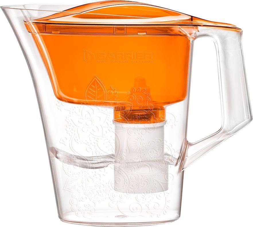 Фильтр для воды БАРЬЕР Танго,  оранжевый,  2.5л