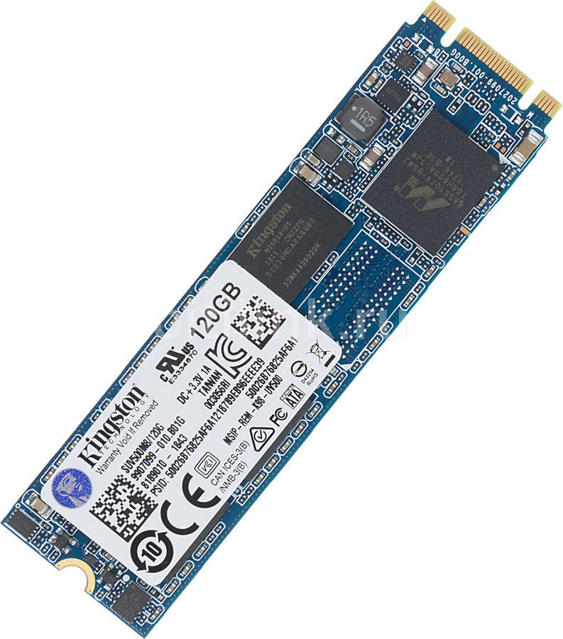 SSD накопитель KINGSTON UV500 SUV500M8/120G 120Гб, M.2 2280, SATA III