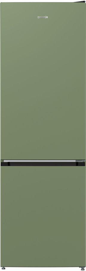 Холодильник GORENJE NRK6192COL4,  двухкамерный, оливковый