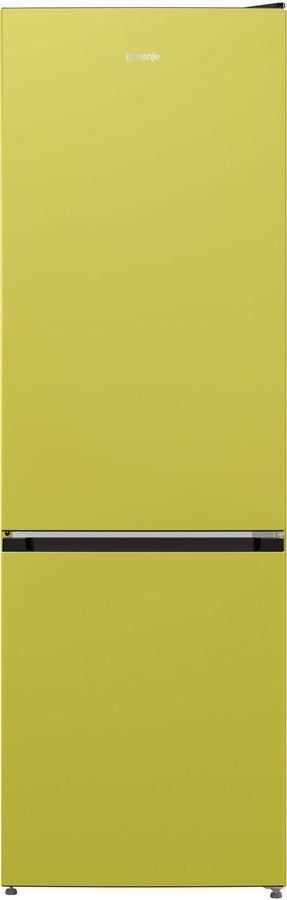 Холодильник GORENJE NRK6192CAP4,  двухкамерный, зеленый