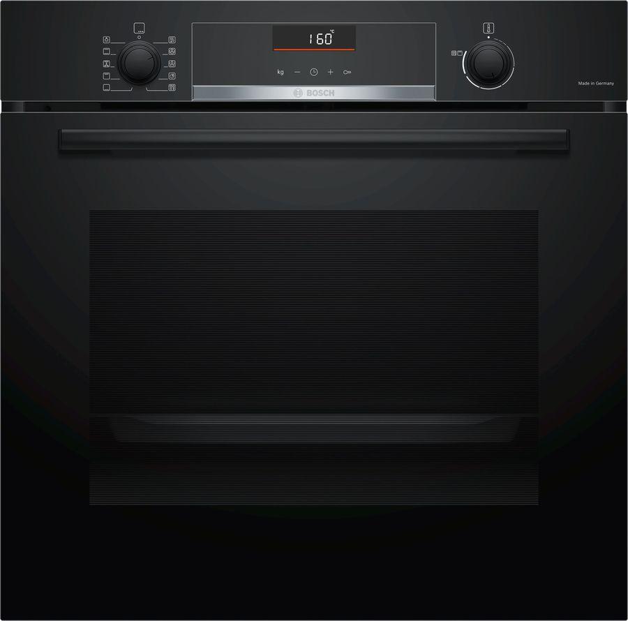 Духовой шкаф BOSCH HBG5360B0R,  черный