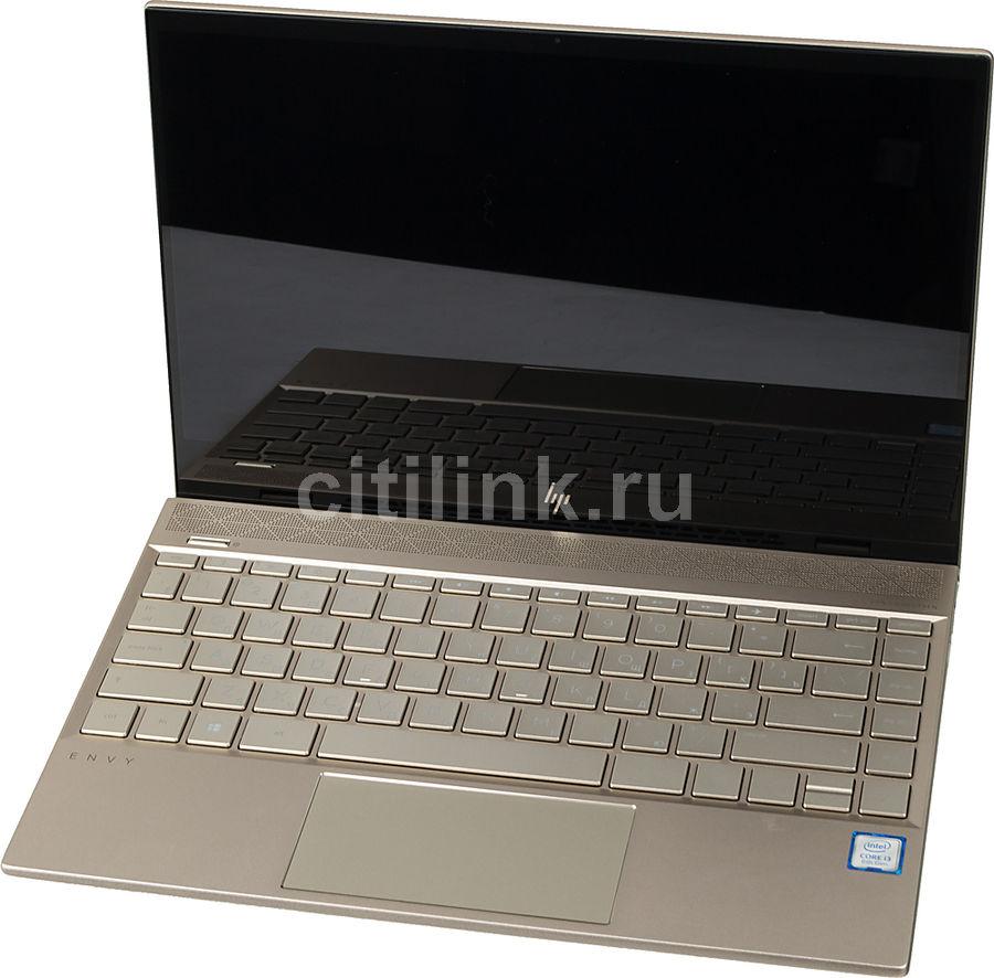 """Ноутбук HP Envy 13-ah1000ur, 13.3"""",  IPS, Intel  Core i3  8145U 2.1ГГц, 4Гб, 128Гб SSD,  Intel UHD Graphics  620, Windows 10, 5CS39EA,  золотистый"""