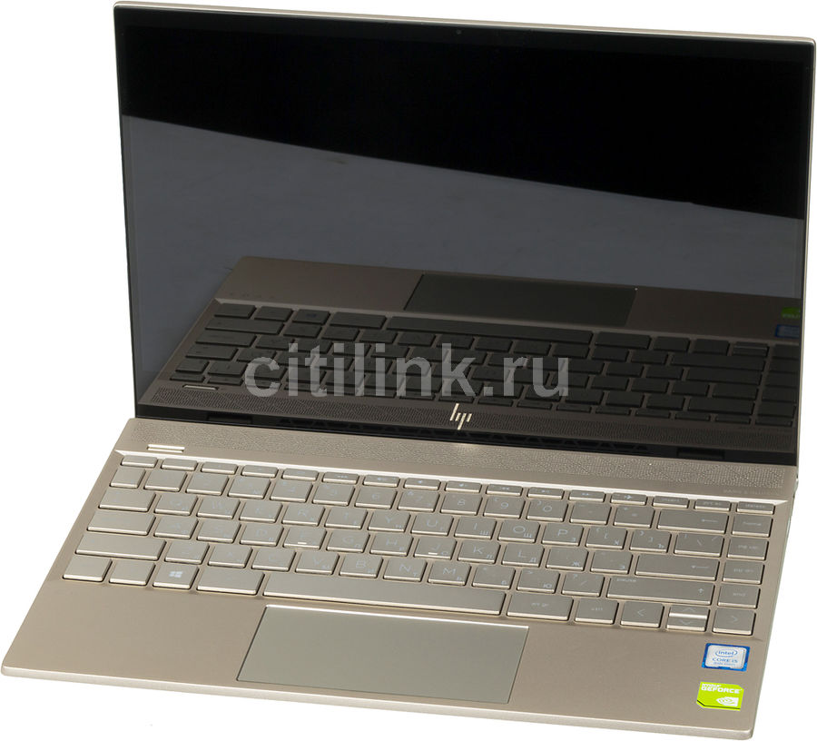 "Ноутбук HP Envy 13-ah1006ur, 13.3"",  IPS, Intel  Core i5  8265U 1.6ГГц, 8Гб, 256Гб SSD,  nVidia GeForce  Mx150 - 2048 Мб, Windows 10, 5CT23EA,  золотистый"