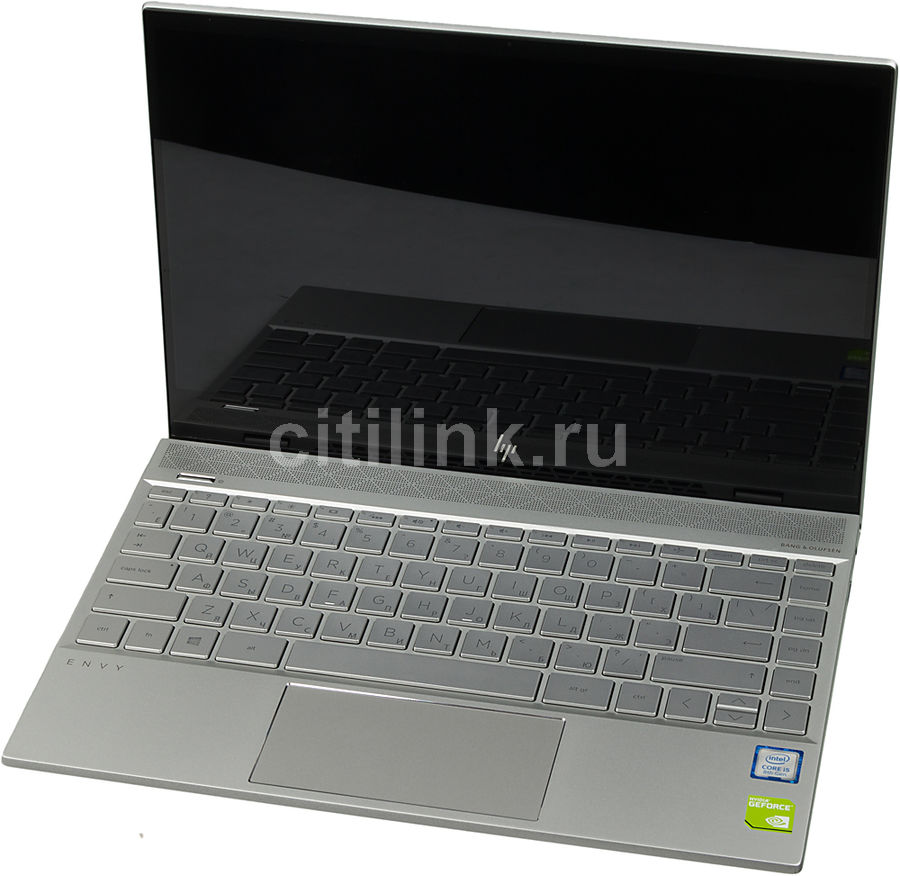 "Ноутбук HP Envy 13-ah1007ur, 13.3"",  IPS, Intel  Core i5  8265U 1.6ГГц, 8Гб, 256Гб SSD,  nVidia GeForce  Mx150 - 2048 Мб, Windows 10, 5CU77EA,  серебристый"