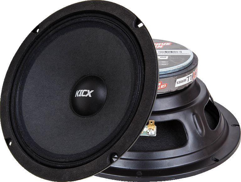 Колонки автомобильные KICX LL80,  широкополосные,  300Вт,  комплект 2 шт. [2012629]