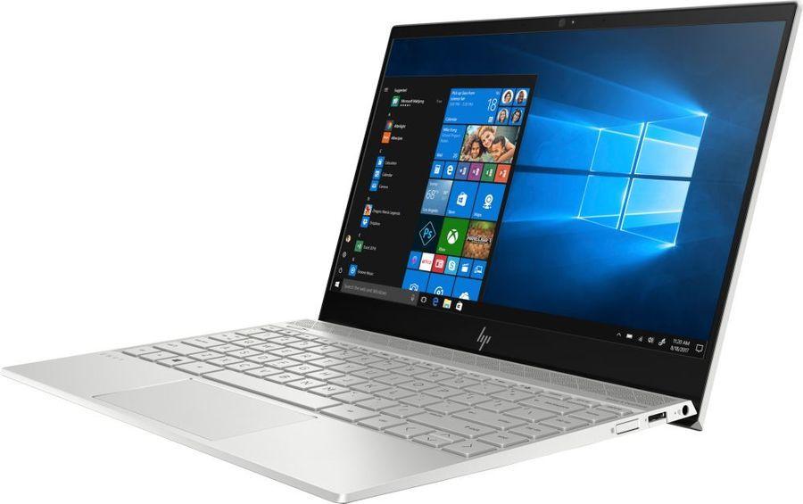 """Ноутбук HP Envy 13-ah1011ur, 13.3"""",  Intel  Core i7  8565U 1.8ГГц, 16Гб, 256Гб SSD,  nVidia GeForce  Mx150 - 2048 Мб, Windows 10, 5CR83EA,  серебристый"""