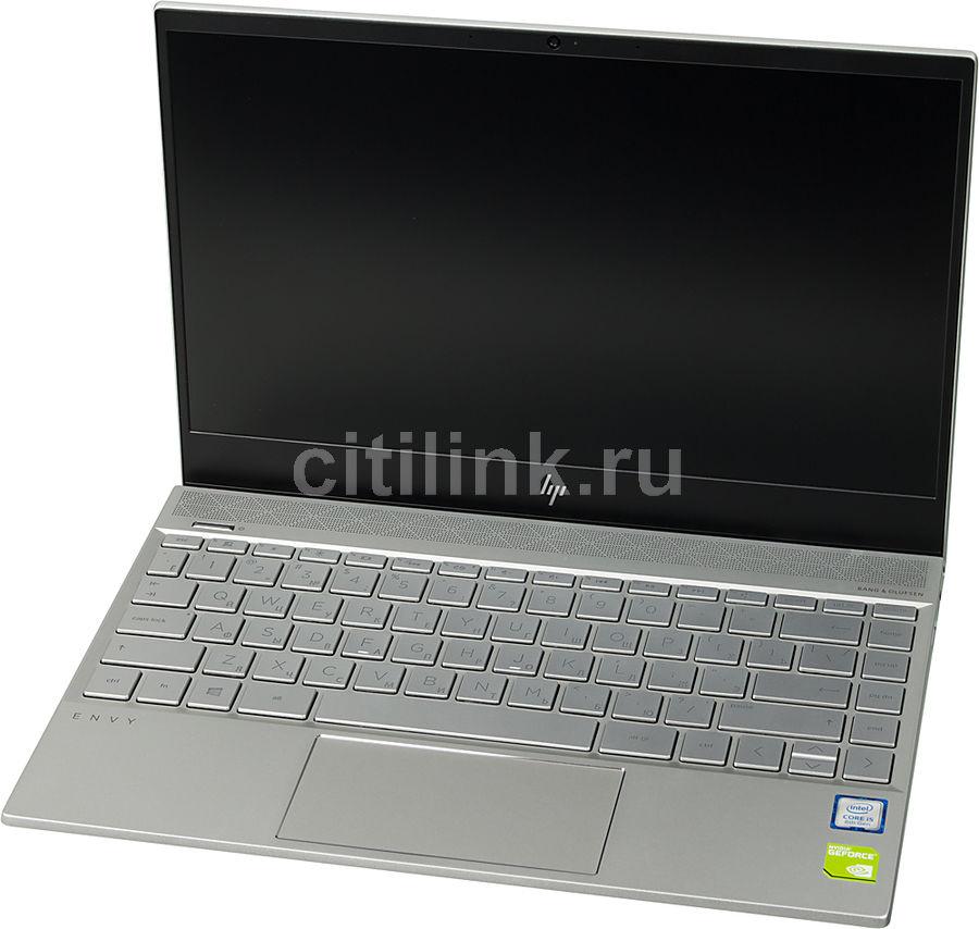 """Ноутбук HP Envy 13-ah1015ur, 13.3"""",  IPS, Intel  Core i5  8265U 1.6ГГц, 8Гб, 256Гб SSD,  nVidia GeForce  Mx150 - 2048 Мб, Windows 10, 5CS66EA,  серебристый"""