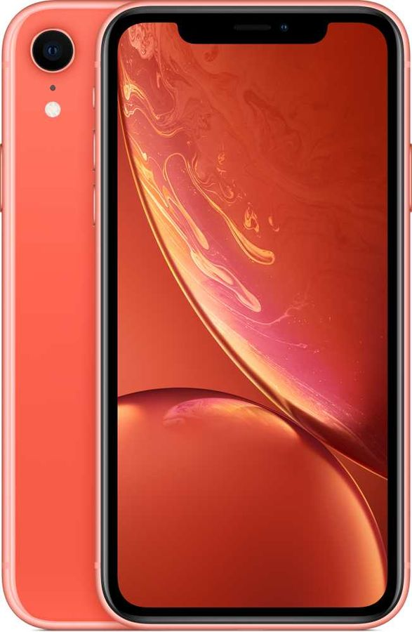 Смартфон APPLE iPhone XR 128Gb,  MRYG2RU/A,  коралловый