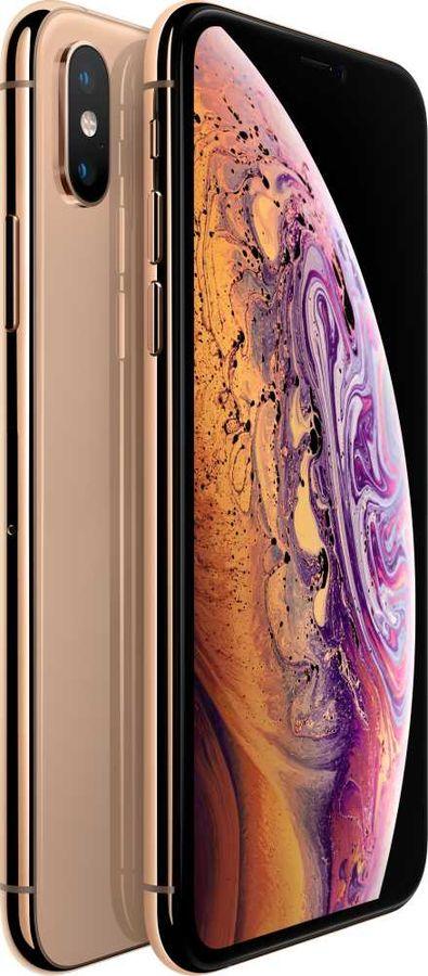 Смартфон APPLE iPhone XS 64Gb,  MT9G2RU/A,  золотистый