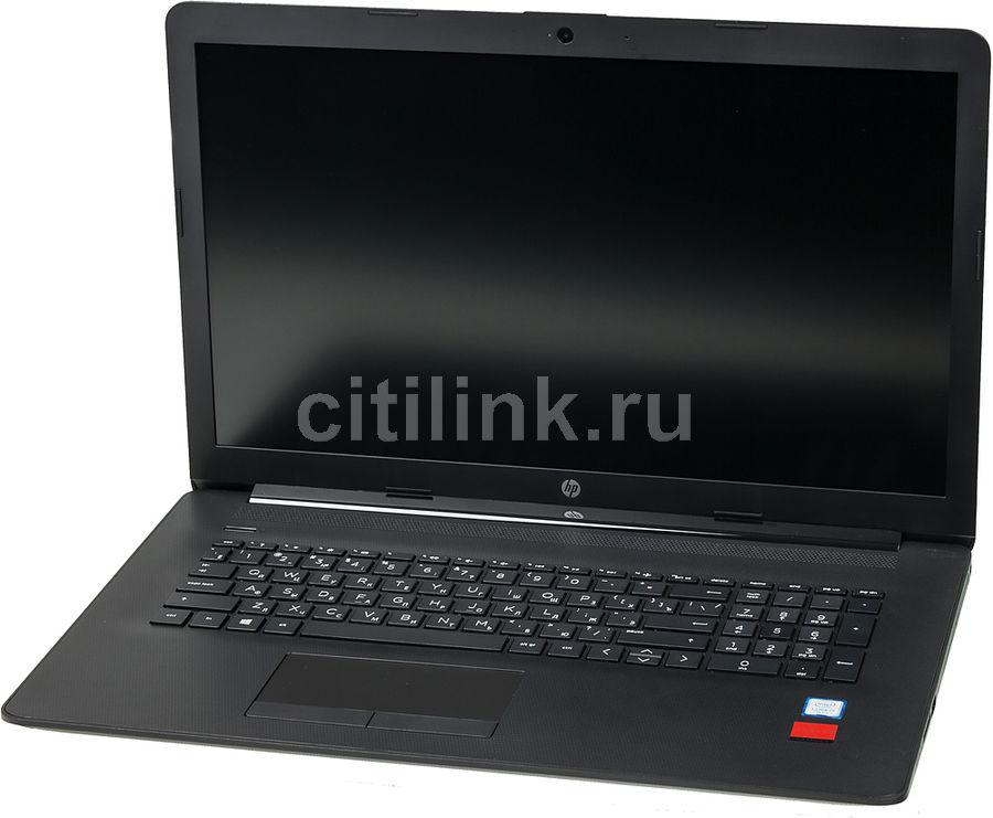 "Ноутбук HP 17-by0166ur, 17.3"",  Intel  Core i7  7500U 2.7ГГц, 8Гб, 1000Гб,  128Гб SSD,  AMD Radeon  530 - 2048 Мб, DVD-RW, Windows 10, 5CU47EA,  черный"