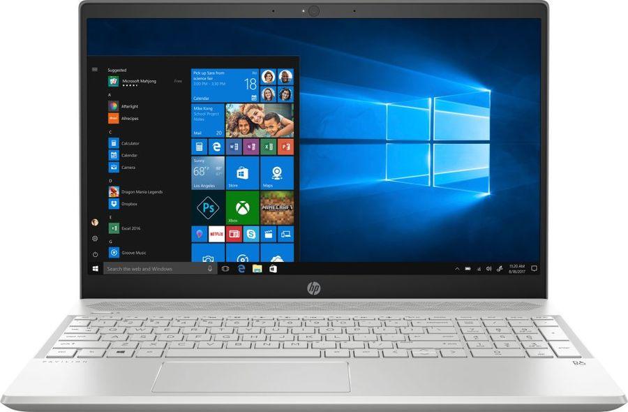 "Ноутбук HP Pavilion Gaming 15-cs1005ur, 15.6"",  IPS, Intel  Core i7  8565U 1.8ГГц, 12Гб, 256Гб SSD,  nVidia GeForce  GTX 1050 Ti - 4096 Мб, Windows 10, 5CT90EA,  серебристый"