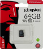 Карта памяти microSDXC UHS-I KINGSTON 64 ГБ