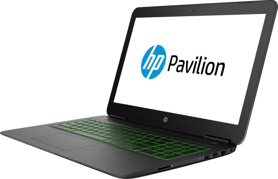 "Ноутбук HP Pavilion Gaming 15-bc494ur, 15.6"",  Intel  Core i7  8750H 2.2ГГц, 16Гб, 1000Гб,  128Гб SSD,  nVidia GeForce  GTX 1050Ti - 4096 Мб, Free DOS, 4XX73EA,  черный"