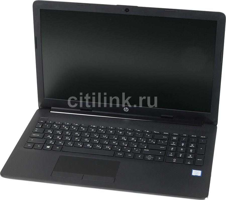 """Ноутбук HP 15-da0350ur, 15.6"""",  Intel  Core i3  7100U 2.4ГГц, 8Гб, 1000Гб,  Intel HD Graphics  620, Windows 10, 5GY73EA,  черный"""