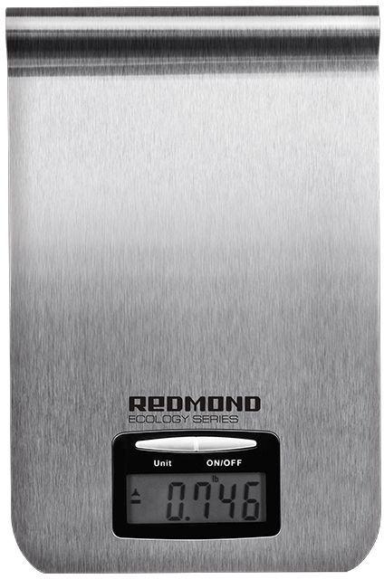 Весы кухонные REDMOND RS-M732,  серебристый