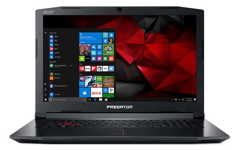 "Ноутбук ACER Helios 300 PH315-51-79PE, 15.6"",  IPS, Intel  Core i7  8750H 2.2ГГц, 8Гб, 1000Гб,  256Гб SSD,  nVidia GeForce  GTX 1050 Ti - 4096 Мб, Windows 10 Home, NH.Q3HER.012,  черный"