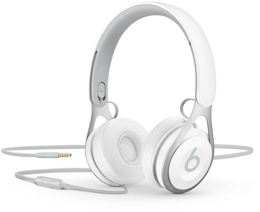 Наушники с микрофоном BEATS EP, 3.5 мм, мониторы, белый [ml9a2ee/a]