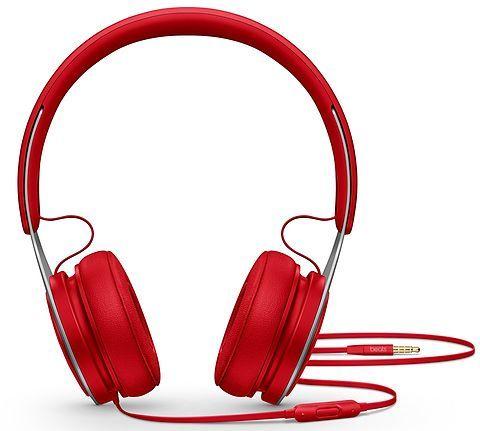 Наушники с микрофоном BEATS EP, 3.5 мм, мониторы, красный [ml9c2ee/a]