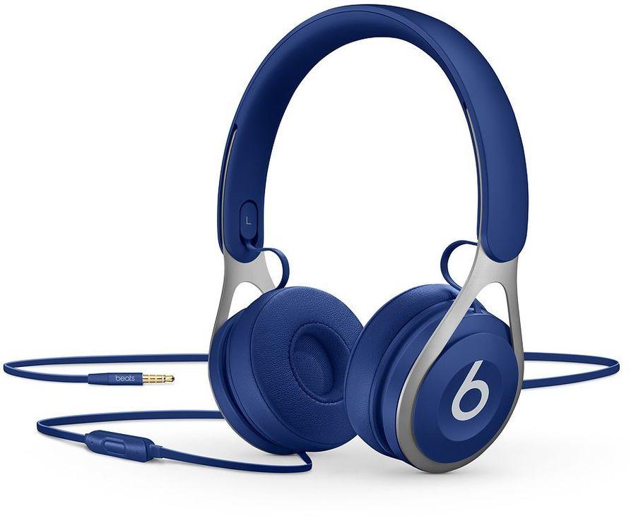 Наушники с микрофоном BEATS EP, 3.5 мм, мониторы, синий [ml9d2ee/a]